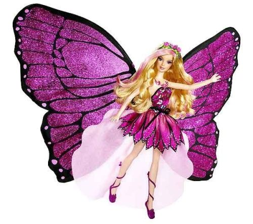 barbie-papillon