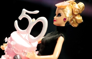 PARIS: Barbie dolls, 50th anniversary